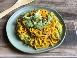 Zucchini vegetable Noodle