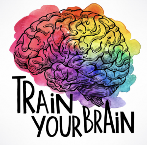Brain Diagram with color